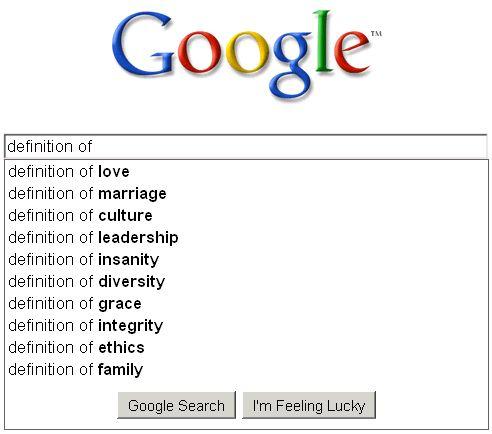 google game definition no happy medium