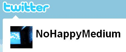 twitter | No Happy Medium