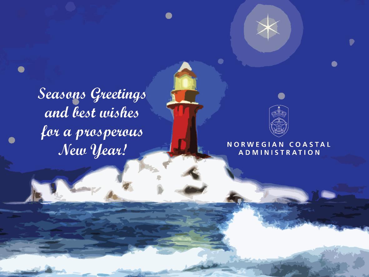 Nerd mail no happy medium seasons greetings from the norwegian coastal administration kristyandbryce Images